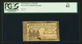 Colonial Notes:New Jersey, New Jersey June 22, 1756 18d PCGS New 61.. ...