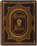 Books:Literature Pre-1900, Eliza Craufurd Ball. The Christian Armour. New York: CharlesScribner & Co., 1866. Text block loose. Publisher's ful...