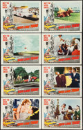 """Movie Posters:Sports, Red Line 7000 (Paramount, 1965). Lobby Card Set of 8 (11"""" X 14""""). Sports.. ... (Total: 8 Items)"""