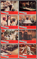 """Movie Posters:Crime, The St. Valentine's Day Massacre (20th Century Fox, 1967). LobbyCard Set of 8 (11"""" X 14""""). Crime.. ... (Total: 8 Items)"""