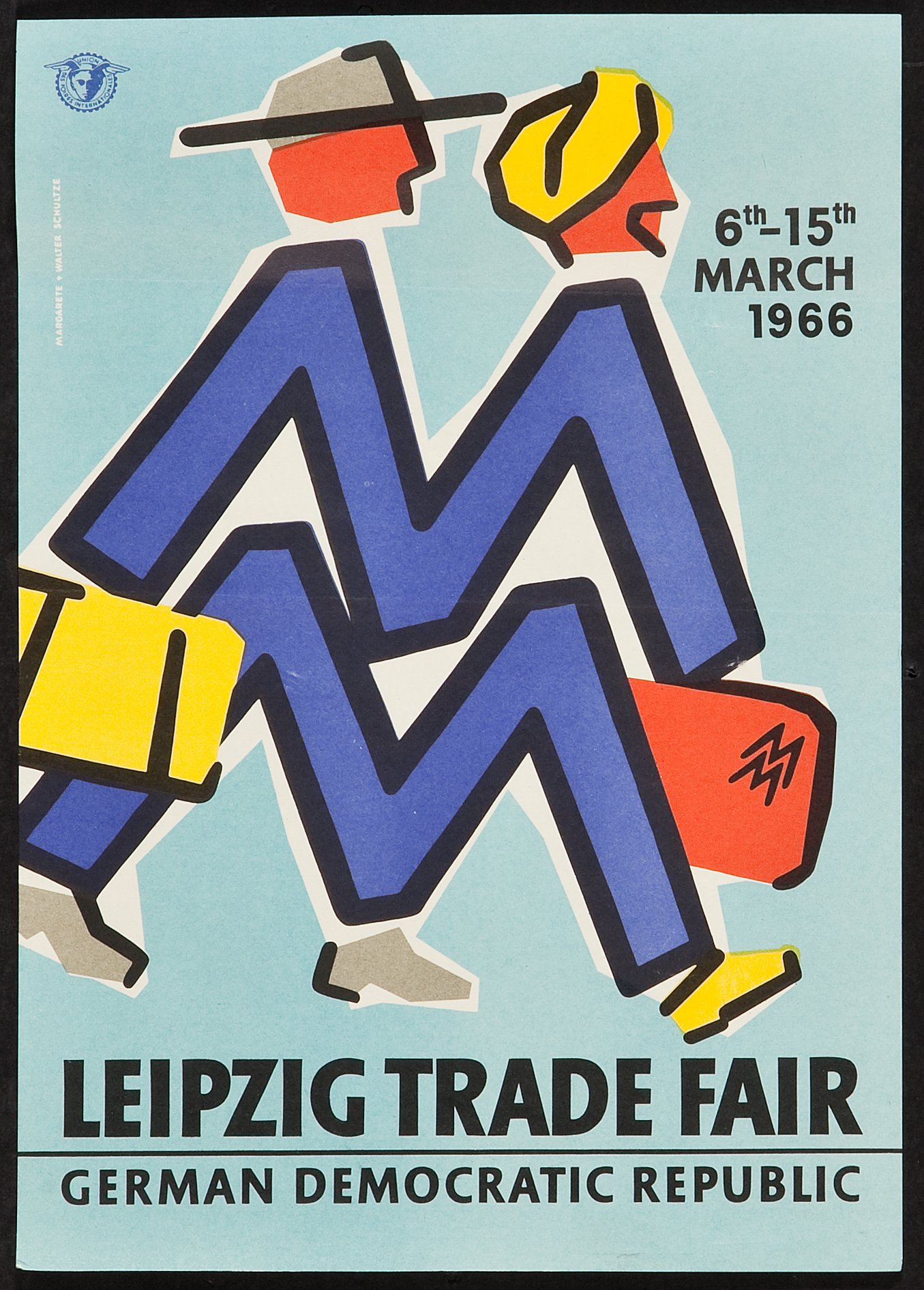 The Leipzig Trade Fair Poster Des Foires Internationales 1966 Lot 54504 Heritage Auctions
