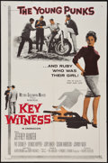 "Movie Posters:Crime, Key Witness and Others Lot (MGM, 1960). One Sheets (7) (27"" X 41"").Crime.. ... (Total: 7 Items)"