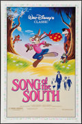 "Movie Posters:Animation, Song of the South (Buena Vista, R-1986). One Sheet (27"" X 41"").Animation.. ..."