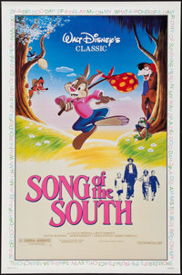 """Song of the South (Buena Vista, R-1986). One Sheet (27"""" X 41""""). Animation"""