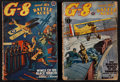 """Movie Posters:War, G-8 and His Battle Aces (Popular Publications, December 1938, andJuly 1939). Pulp Magazines (2) (7"""" X 10"""") (Multiple Pages)...(Total: 2 Items)"""