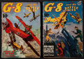"Movie Posters:War, G-8 and His Battle Aces (Popular Publications, December 1936, andNovember 1939). Pulp Magazines (2) (Multiple Pages) (7"" X ...(Total: 2 Items)"