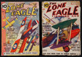 "Movie Posters:War, The Lone Eagle (Better Publications, January 1935, and December1937). Pulp Magazines (2) (7"" X 10"") (Multiple Pages). Misce...(Total: 2 Items)"
