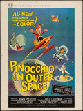 "Movie Posters:Animation, Pinocchio In Outer Space (Universal, 1965). Poster (30"" X 40""). Animation.. ..."