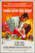 """Movie Posters:Academy Award Winners, Gone with the Wind (MGM, R-1974). One Sheet (27"""" X 41"""") & Pressbooks (3) (12.5"""" X 17""""). Academy Award Winners.. ... (Total: 4 Items)"""