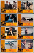 "Movie Posters:Action, McQ (Warner Brothers, 1974). Lobby Card Set of 8 (11"" X 14"").Action.. ... (Total: 8 Items)"