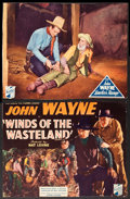 "Movie Posters:Western, Winds of the Wasteland and Other Lot (Republic, 1936). Trimmed Title Lobby Card and Lobby Card (10"" X 13""). Western.. ... (Total: 2 Items)"