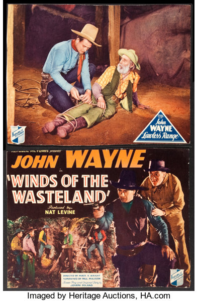 Winds of the Wasteland and Other Lot (Republic, 1936