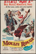 "Movie Posters:Drama, Moulin Rouge (United Artists, 1952). One Sheet (27"" X 41""). Drama....."