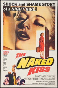 "The Naked Kiss (Allied Artists, 1964). One Sheet (27"" X 41""). Drama"