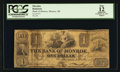 Obsoletes By State:Michigan, Monroe, MI- The Bank of Monroe $1 Feb. 10, 1837 G20 Rust 19 Lee MON-2-10. ...