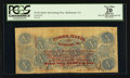 Confederate Notes:1863 Issues, Advertising Note T59 $10 1863.. ...