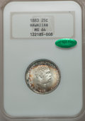 Coins of Hawaii: , 1883 25C Hawaii Quarter MS64 NGC. CAC. NGC Census: (218/280). PCGSPopulation (329/267). Mintage: 500,000. ...