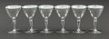 Silver Holloware, American:Wine Goblet, A SET OF SIX TIFFANY & CO. SILVER GOBLETS . Tiffany & Co., New York, New York, circa 1915-16. Marks: TIFFANY & CO., MAKERS... (Total: 6 Items)
