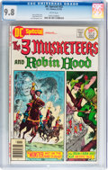 Bronze Age (1970-1979):Miscellaneous, DC Special #22 The 3 Musketeers and Robin Hood (DC, 1976) CGC NM/MT9.8 White pages....