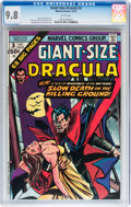 Bronze Age (1970-1979):Horror, Giant-Size Dracula #3 (Marvel, 1974) CGC NM/MT 9.8 White pages....