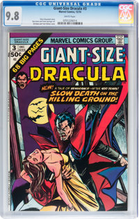 Giant-Size Dracula #3 (Marvel, 1974) CGC NM/MT 9.8 White pages