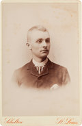 Photography:Cabinet Photos, [Texas Rangers]. Frank Louis Schmid, Jr., Cabinet Card, circa 1888....