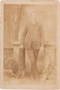 Photography:Cabinet Photos, [Texas Rangers]. James William Durbin Cabinet Card, circa1890....