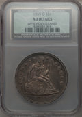 Seated Dollars: , 1859-O $1 -- Improperly Cleaned -- NCS. AU Details. NGC Census: (20/431). PCGS Population (43/563). Mintage: 360,000. Numis...
