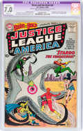 Silver Age (1956-1969):Superhero, The Brave and the Bold #28 Justice League of America (DC, 1960) CGCApparent FN/VF 7.0 Slight (A) Cream to off-white pages....