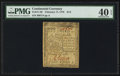 Colonial Notes:Continental Congress Issues, Continental Currency February 17, 1776 $1/3 PMG Extremely Fine 40 EPQ.. ...