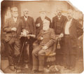 """Photography, [Texas Rangers]. Group Portrait Featuring John S. """"Rip"""" Ford with Comrades, circa 1885. ..."""