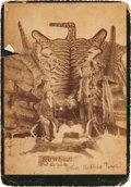 Photography:Cabinet Photos, [Texas Rangers]. Robert Hall Albumen Card Photograph Signed,circa 1880. ...