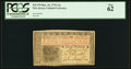 Colonial Notes:New Jersey, New Jersey March 25, 1776 12s PCGS New 62.. ...