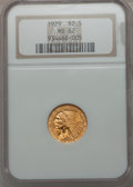 Indian Quarter Eagles: , 1929 $2 1/2 MS62 NGC. NGC Census: (7306/8659). PCGS Population(4191/5471). Mintage: 532,000. Numismedia Wsl. Price for pro...