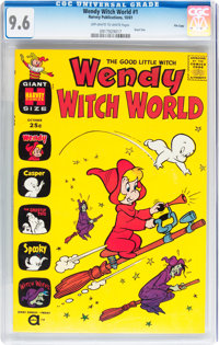 Wendy Witch World #1 File Copy (Harvey, 1961) CGC NM+ 9.6 Off-white to white pages