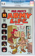 Silver Age (1956-1969):Humor, Sad Sack's Army Life Parade #1 File Copy (Harvey, 1963) CGC NM 9.4 Off-white to white pages....