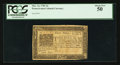 Colonial Notes:Pennsylvania, Pennsylvania March 16, 1785 3d PCGS About New 50.. ...