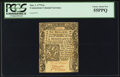 Colonial Notes:Connecticut, Connecticut June 1, 1775 6s PCGS Choice About New 55PPQ.. ...