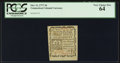 Colonial Notes:Connecticut, Connecticut October 11, 1777 3d PCGS Very Choice New 64.. ...