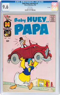 Baby Huey and Papa #1 File Copy (Harvey, 1962) CGC NM+ 9.6 White pages
