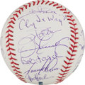 Autographs:Baseballs, 2000's No-Hitter Pitchers Multi-Signed Baseball....