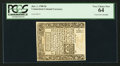 Colonial Notes:Connecticut, Connecticut June 1, 1780 9d PCGS Very Choice New 64.. ...