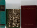 Books:Biography & Memoir, [Theodore Roosevelt]. Group of Three. Various publishers. Includes Roosevelt Among the People. One ex-library with usual... (Total: 3 Items)