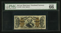 Fractional Currency:Third Issue, Fr. 1342 50¢ Third Issue Spinner Type II PMG Gem Uncirculated 66 EPQ.. ...