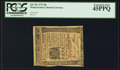 Colonial Notes:Pennsylvania, Pennsylvania July 20, 1775 20s PCGS Extremely Fine 45PPQ.. ...