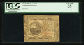 Colonial Notes:Continental Congress Issues, Continental Currency May 9, 1776 $6 PCGS Very Fine 35.. ...