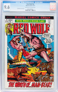 Bronze Age (1970-1979):Western, Red Wolf #4 (Marvel, 1972) CGC NM+ 9.6 Off-white to white pages....