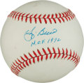 "Autographs:Baseballs, Yogi Berra Single Signed Baseball With ""H.O.F. 72"" Inscription..."