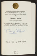 Autographs:Others, Buzz Aldrin Signed Limited Edition Encounter With TiberBook....