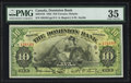 Canadian Currency: , Toronto, ON- The Dominion Bank $10 Jan. 2, 1925 Ch. # 220-18-10....